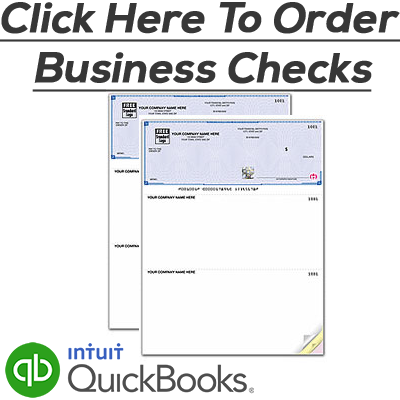 Deluxe QuickBooks Checks, Deluxe Business Checks